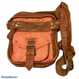 Roxy Boho Crossbody Bag Small Tribal Print